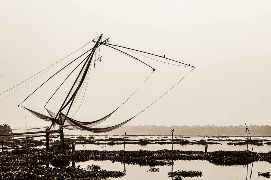 124 Chinese Fishing Nets, Kerala