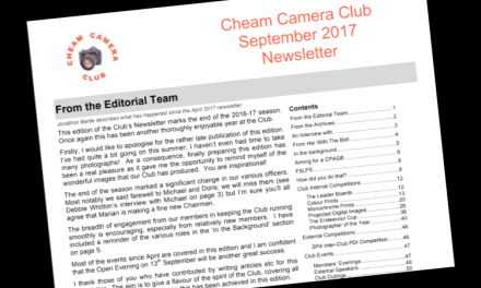 Newsletter – September 2017