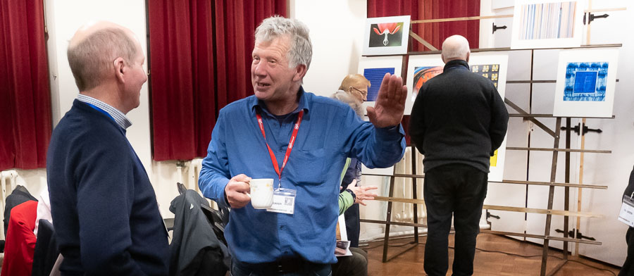 'From Ackney to ARPS and After' with Fred Barrington