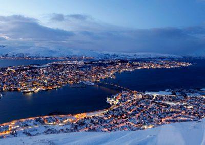 David Wilkinson - Blue Hour, Tromso