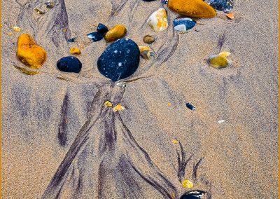 Michael Nightingale - Patterns on a beach